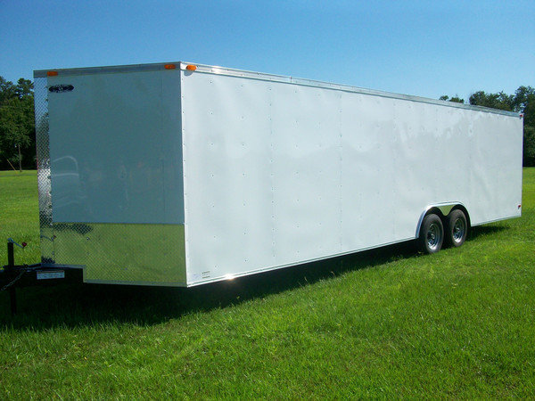 8.5' Wide South Georgia Cargo Trailer 8.5x26, 8.5x28, 8.5x32 Car Haulers 1