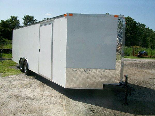 8.5' x 24', 20', 22' South Georgia Cargo Trailer 1