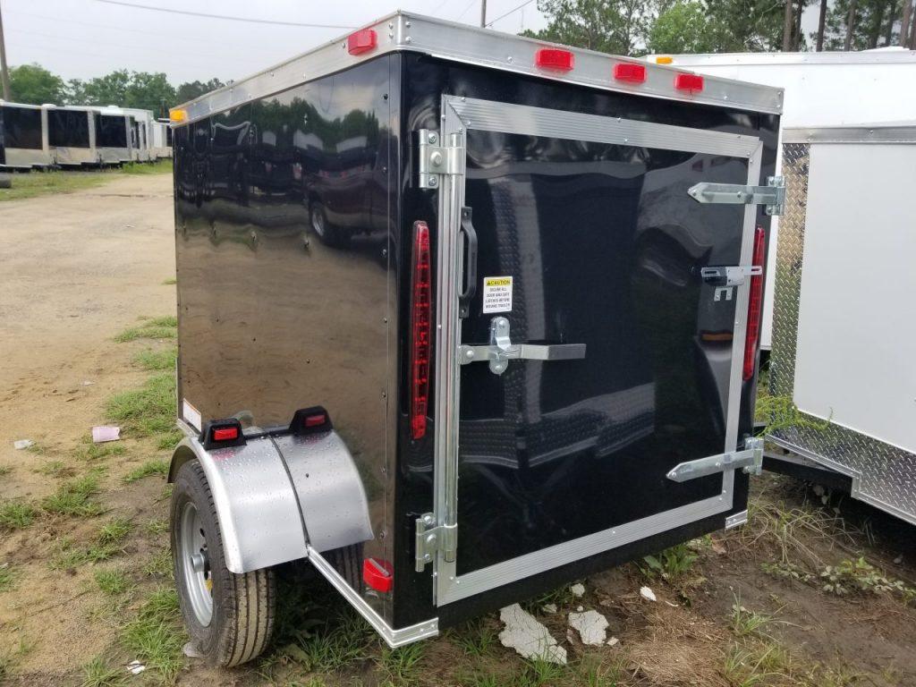 4 Wide Rolling Vault Cargo Trailer Plain Ol Trailers