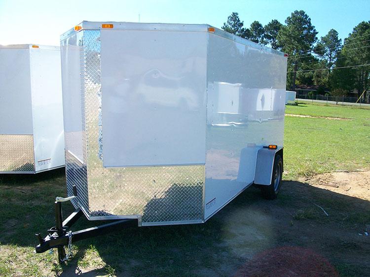 6' x 10' Budget V Nose Cargo Trailer SH610SA