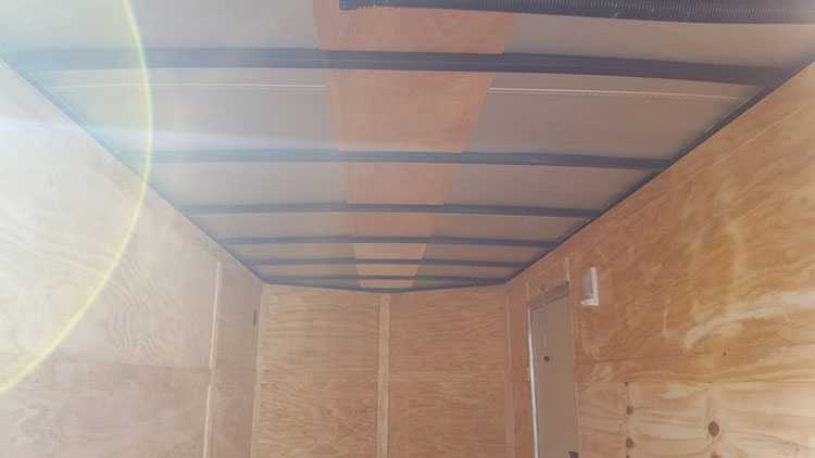 6' x 14' V Nose Tandem Axle Diamond Cargo Trailer