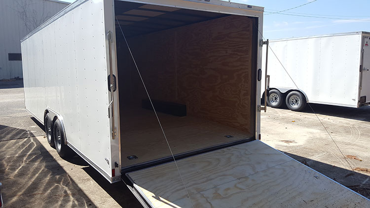 8.5' x 14' V Nose Tandem Axle Diamond Cargo Trailer
