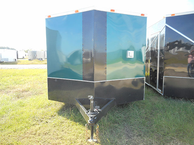8.5' x 18' V Nose Tandem Axle Diamond Cargo Trailer