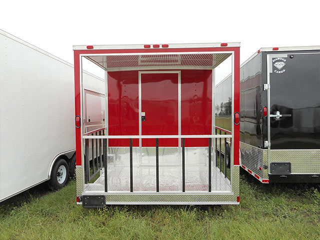 8.5' x 22' V Nose Tandem Axle Diamond Cargo Trailer