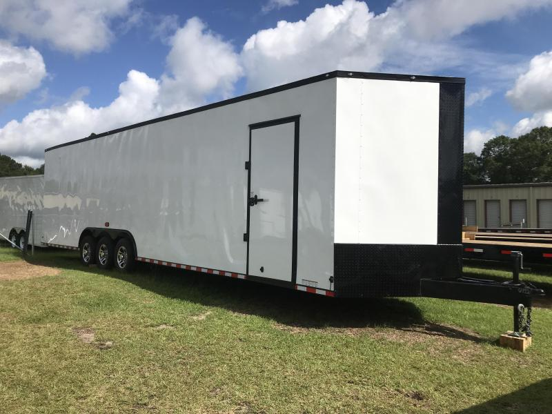 8.5' x 34' V Nose Triple Axle Diamond Cargo Trailer