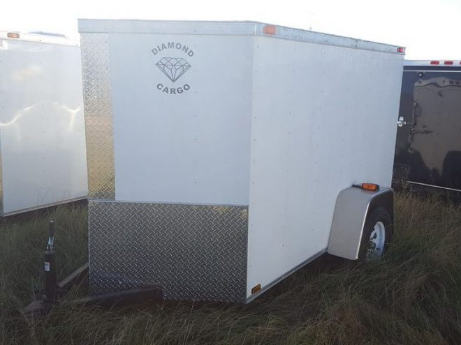 5 Foot Wide Diamond Cargo Trailer