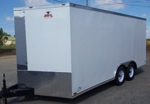 Anvil V Nose Tandem Axle 8.5x16 Cargo Trailer