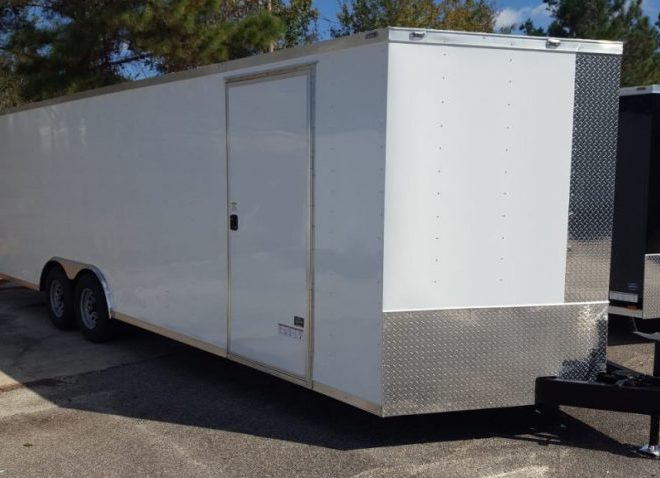 Anvil V Nose Tandem Axle 8.5x24 Cargo Trailer
