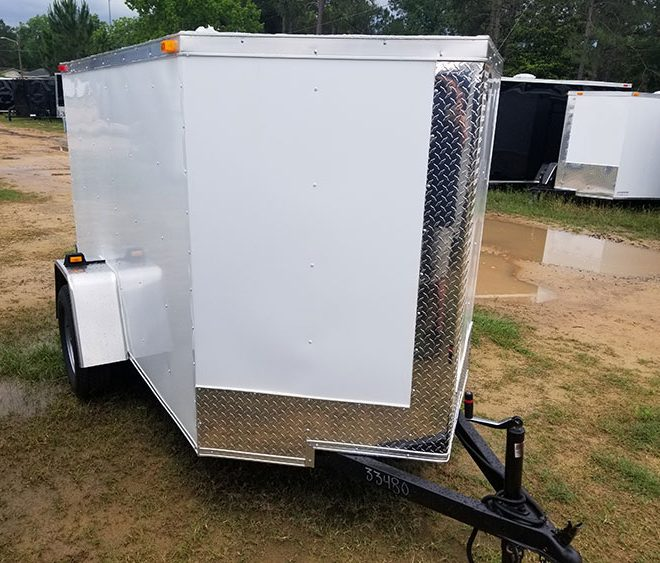RollingVault V Nose 5x10 Enclosed Trailers For Sale