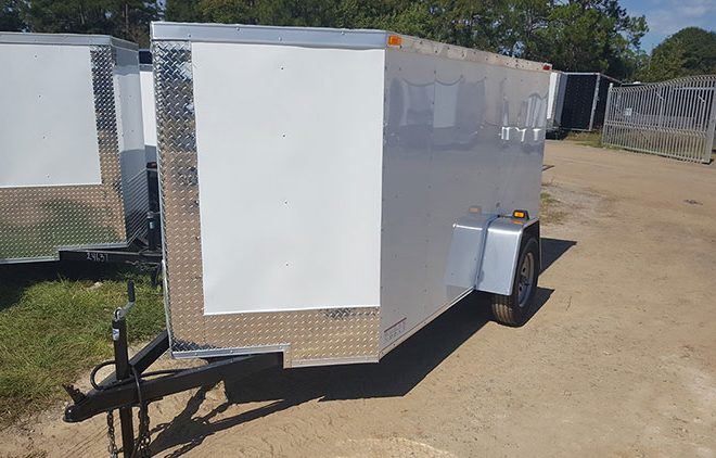 RollingVault V Nose 5x6 Enclosed Trailer