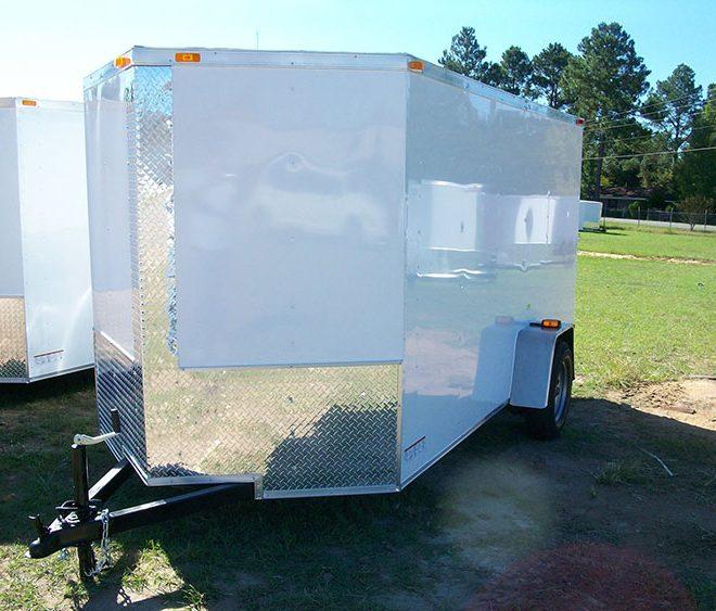 6x10 Budget V Nose Cargo Trailer