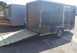 RollingVault V Nose 6x10 Single Axle Trailers For Sale