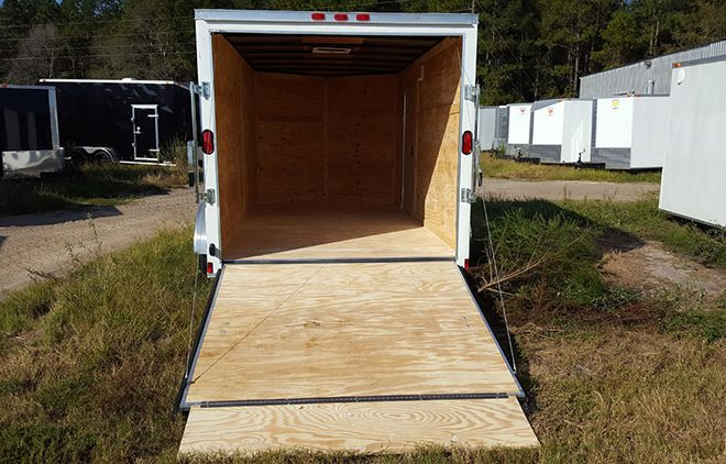 6x10 Enclosed Trailer