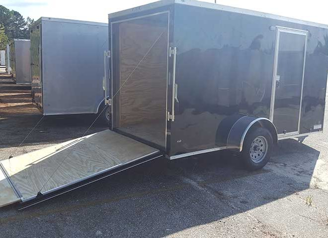 Anvil V Nose 6x14 Single Axle Cargo Trailer