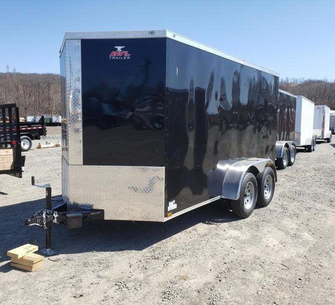 Anvil V Nose Tandem Axle 6x14 Cargo Trailers For Sale