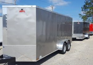 Anvil V Nose Tandem Axle 7x14 Cargo Trailers For Sale