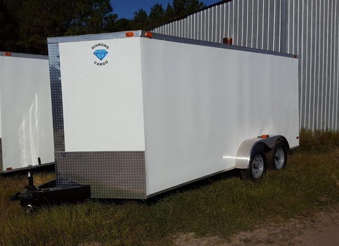 7x24 Enclosed Trailer