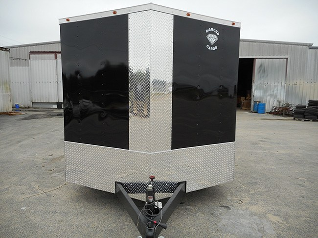 Diamond Cargo V Nose Tandem Axle 8.5x12 Trailers For Sale