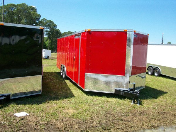 8.5x12 Enclosed Trailer