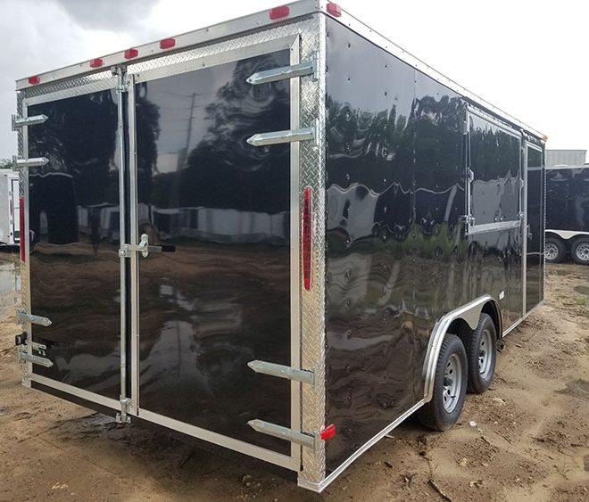 8.5x16 Enclosed Trailer