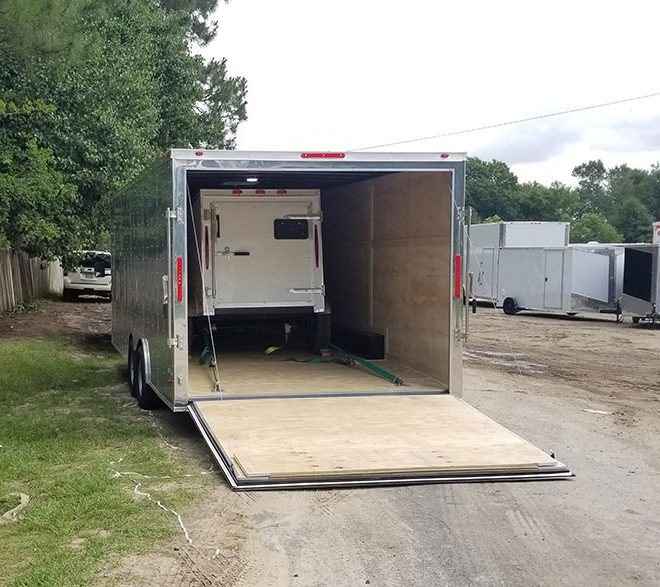 8.5x22 Enclosed Trailer