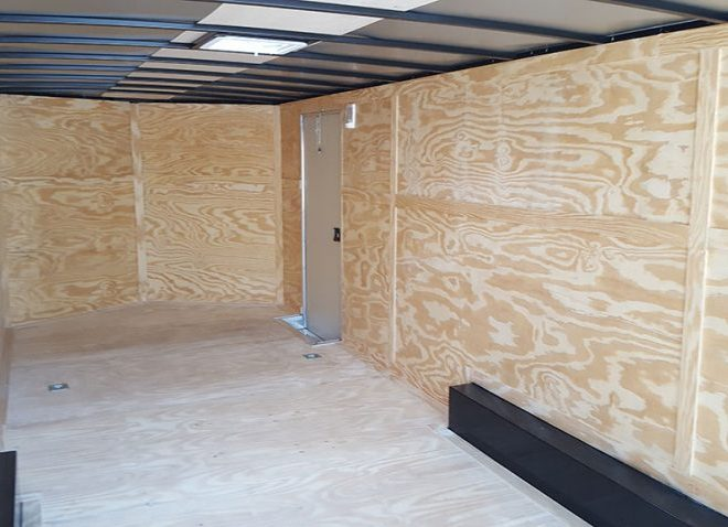 8.5x26 Enclosed Trailer