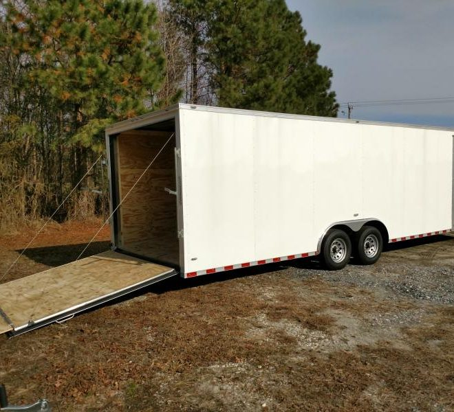 Anvil V Nose Tandem Axle 8.5x26 Cargo Trailer