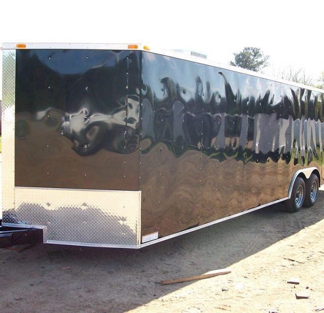 8.5x28 Enclosed Trailer