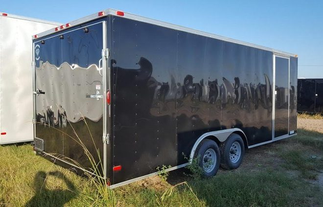 Diamond Cargo V Nose Tandem Axle 8.5x28 Trailers For Sale