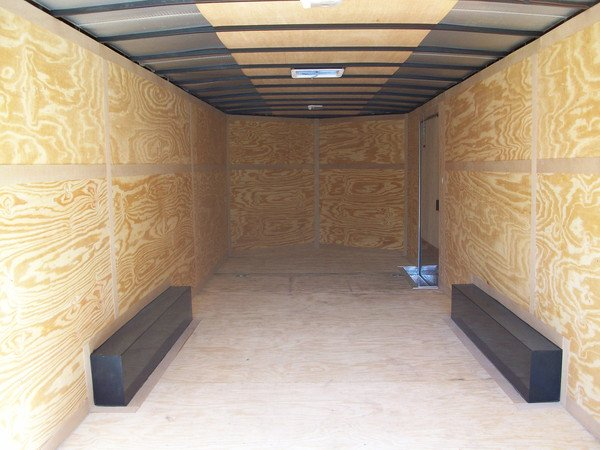 8.5x32 Enclosed Trailer
