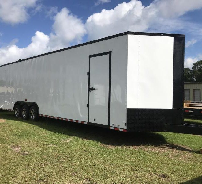 Diamond Cargo V Nose Triple Axle 8.5x34 Trailers For Sale