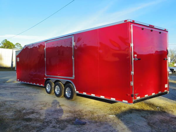 8.5x36 Enclosed Trailer
