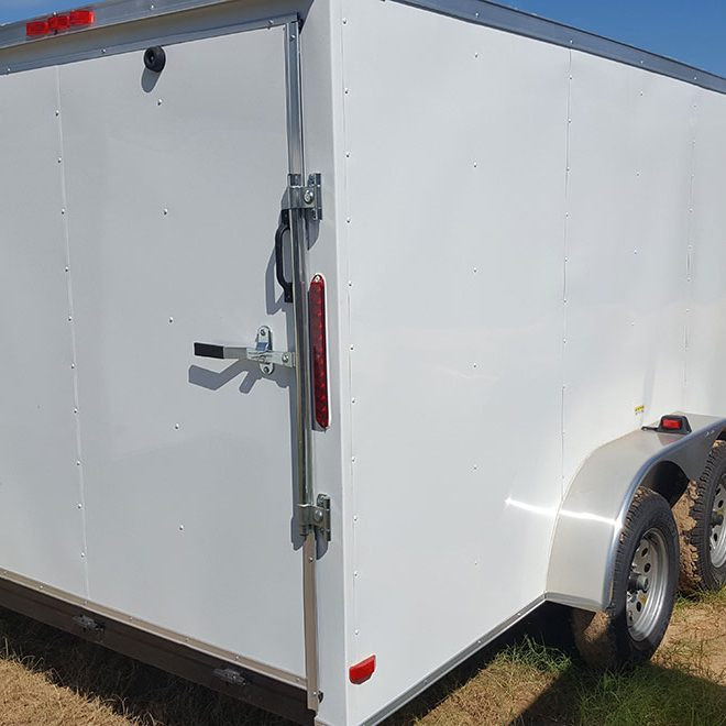 7x18 Enclosed Trailer